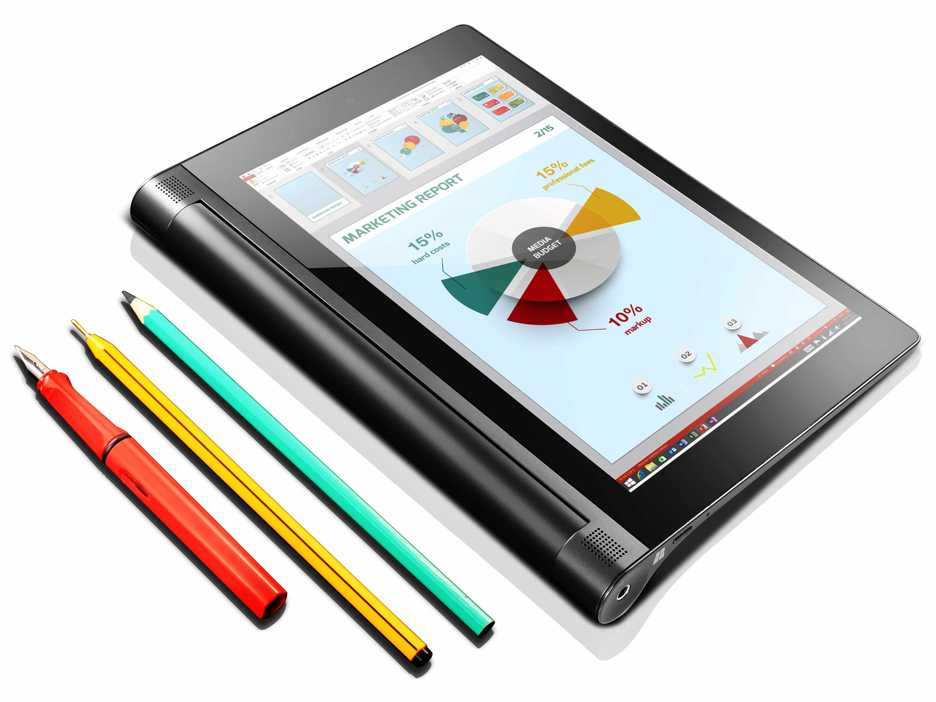 Lenovo Yoga Tablet 2 8 Windows With AnyPen Launched On CES