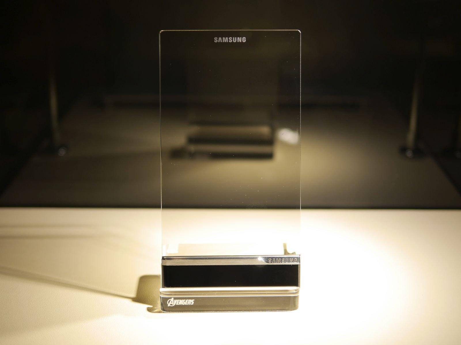 Samsung Developed A Transparent Smartphone