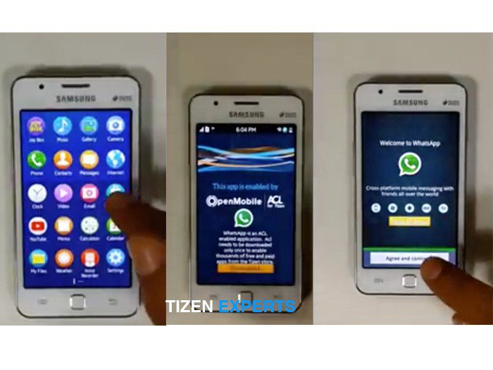 Samsung Z1 Will Run Android Apps