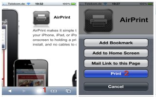 How To Print With AirPrint On iPhone 6 Plus