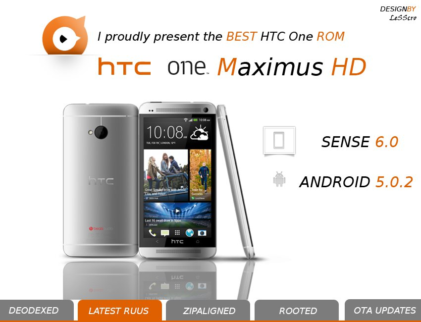 HTC One Receives Stock Unofficial Android 5.0.2 Lollipop With Sense 6.0