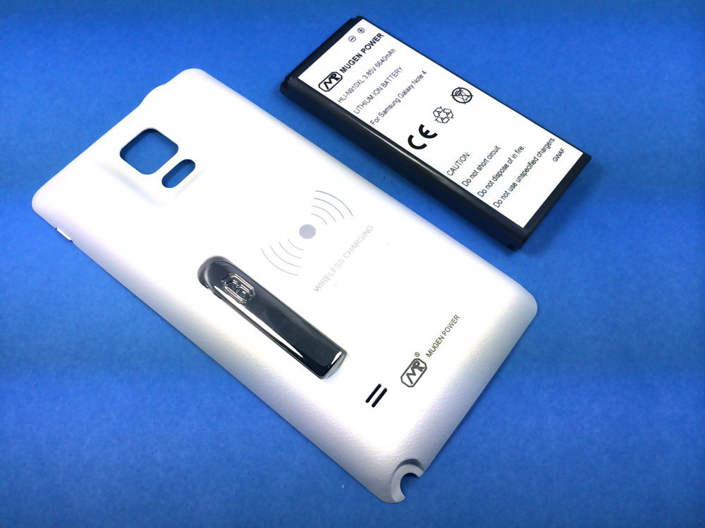Mugen's Battery Case Doubles Galaxy Note 4 Endurance