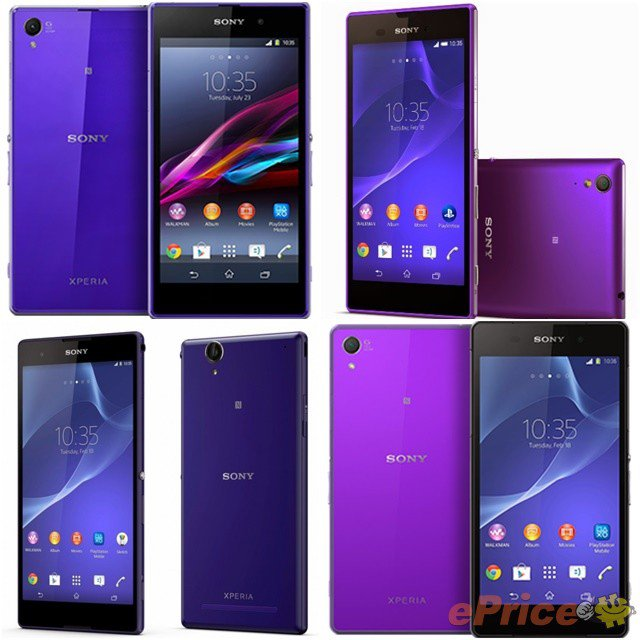 Two Hues Of Purple Xperia Z3 Expected To Launch In Coming Weeks