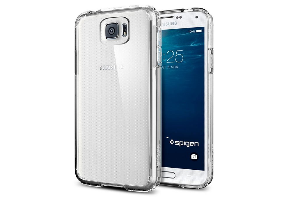 Pics Of Samsung Galaxy S6 In A Spigen Case Leaked