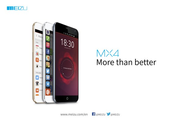 Meizu Teases With MX4 Ubuntu Phone For MWC 2015