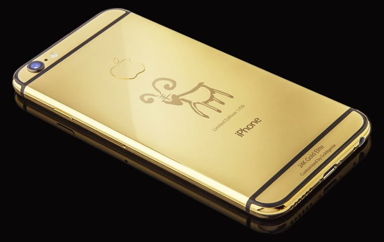 Goldgenie Creates Goat Limited Edition Of 24k Gold iPhone 6