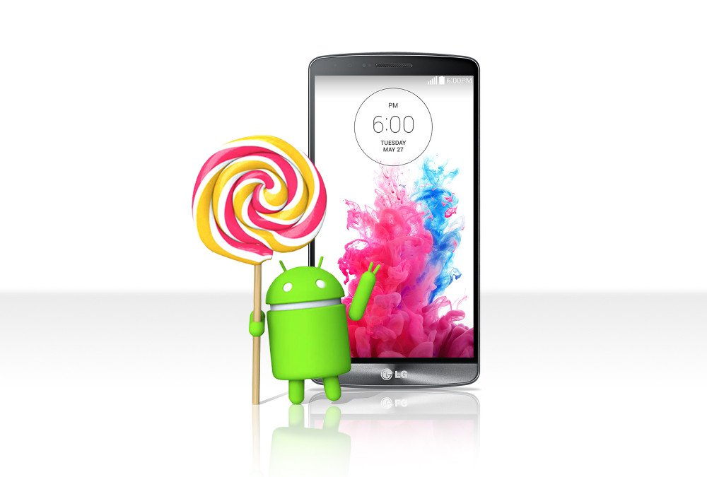Sprint LG G3 Now Got Android Lollipop OTA