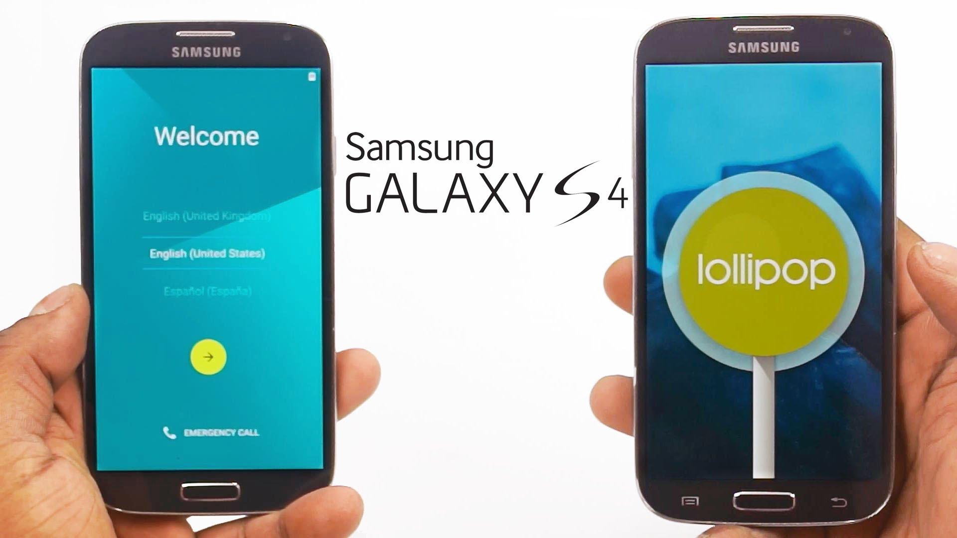 Samsung Galaxy S4 Got Android Lollipop Firmware Update