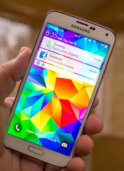 Samsung Galaxy S5 Plus And Note Edge Gets Android Lollipop