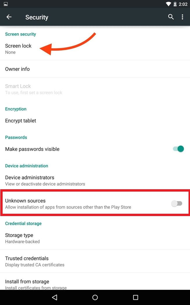 Protect Against Harmful Apps - Android Lollipop