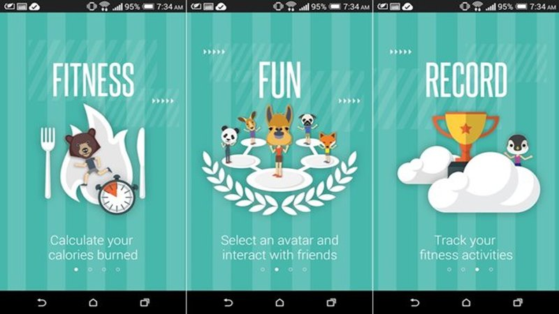 HTC Research Launches Fun Fit - Fitness App For Android