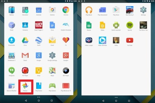 How To Use Photos App - Android Lollipop
