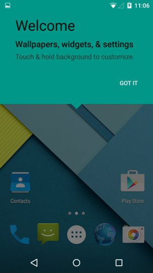How To Customize Home Screen - Android Lollipop