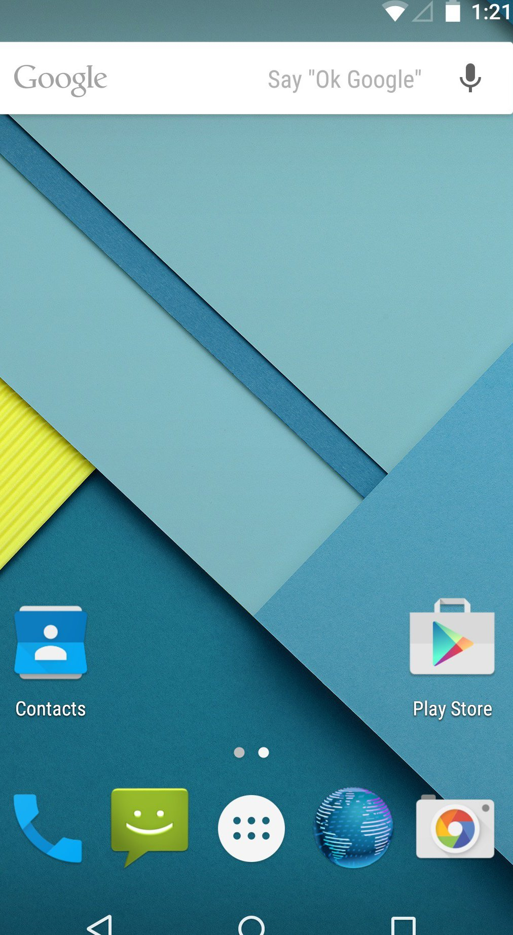 How To Take Screenshot - Android Lollipop