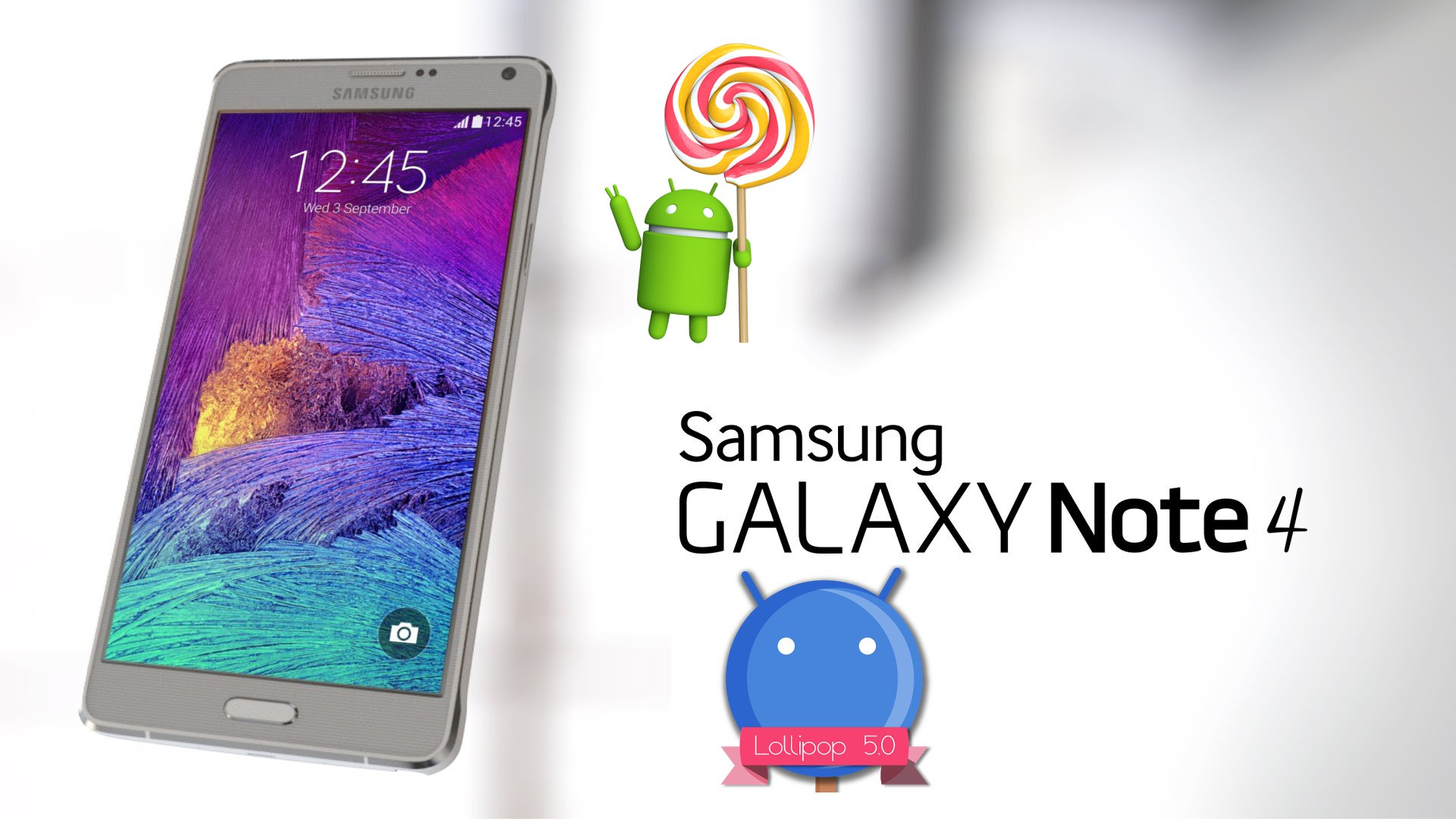 Android 5.0 Lollipop Update Ready For AT&T Samsung Galaxy Note 4