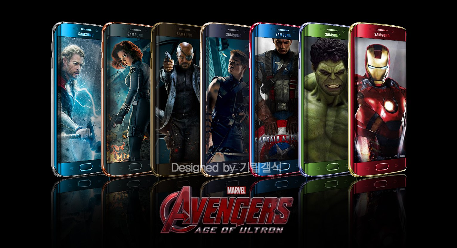 Samsung Considering Limited Edition Of Avengers-Themed Galaxy S6 Edge