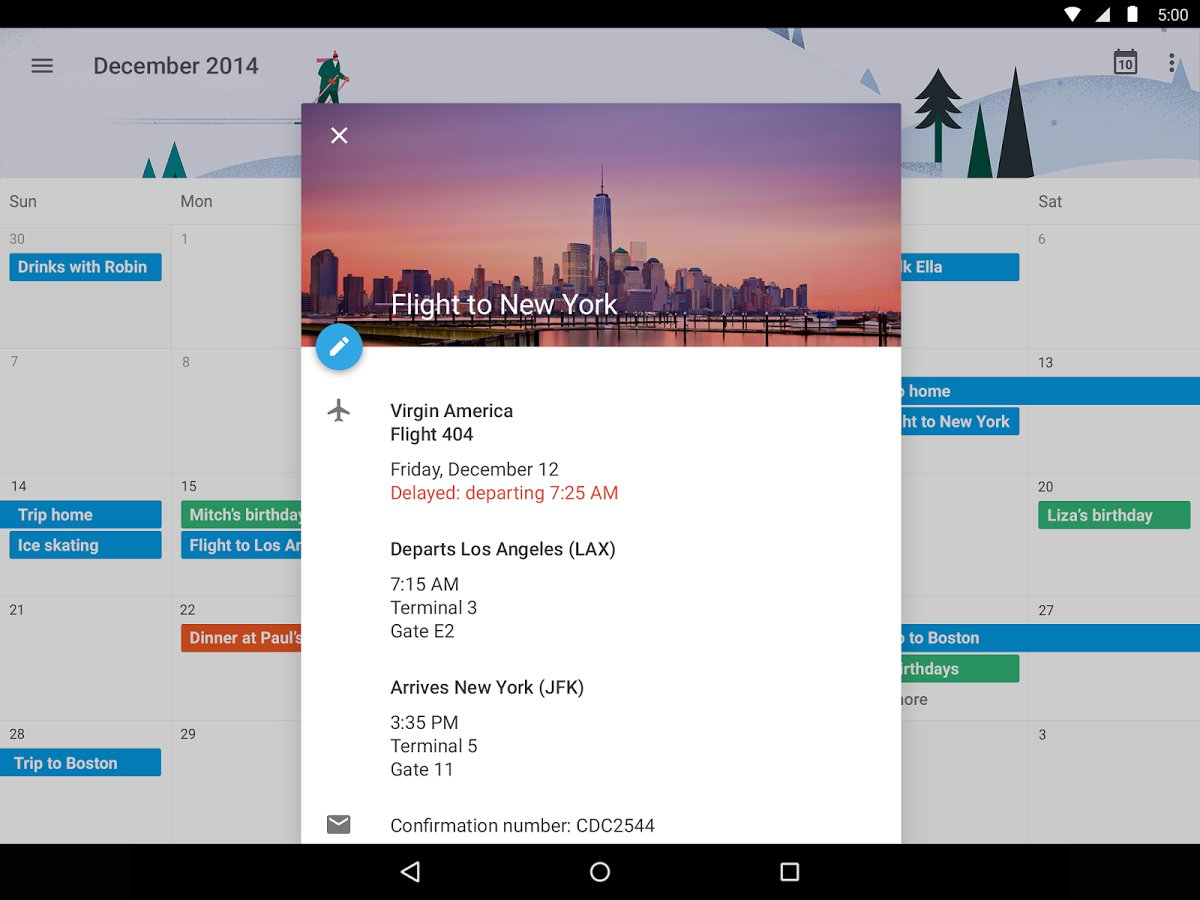 How To Use Google Calendar - Android Lollipop