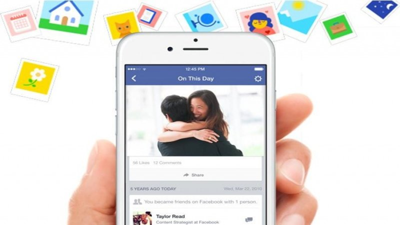 "Facebook Introduces Flashback Feature ""On This Day"""