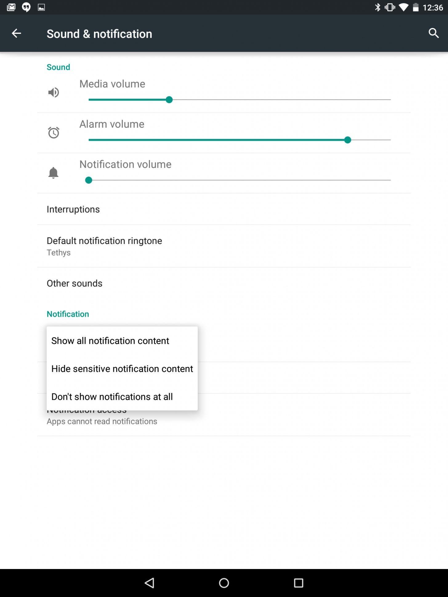 How To Change Sound Settings - Android Lollipop