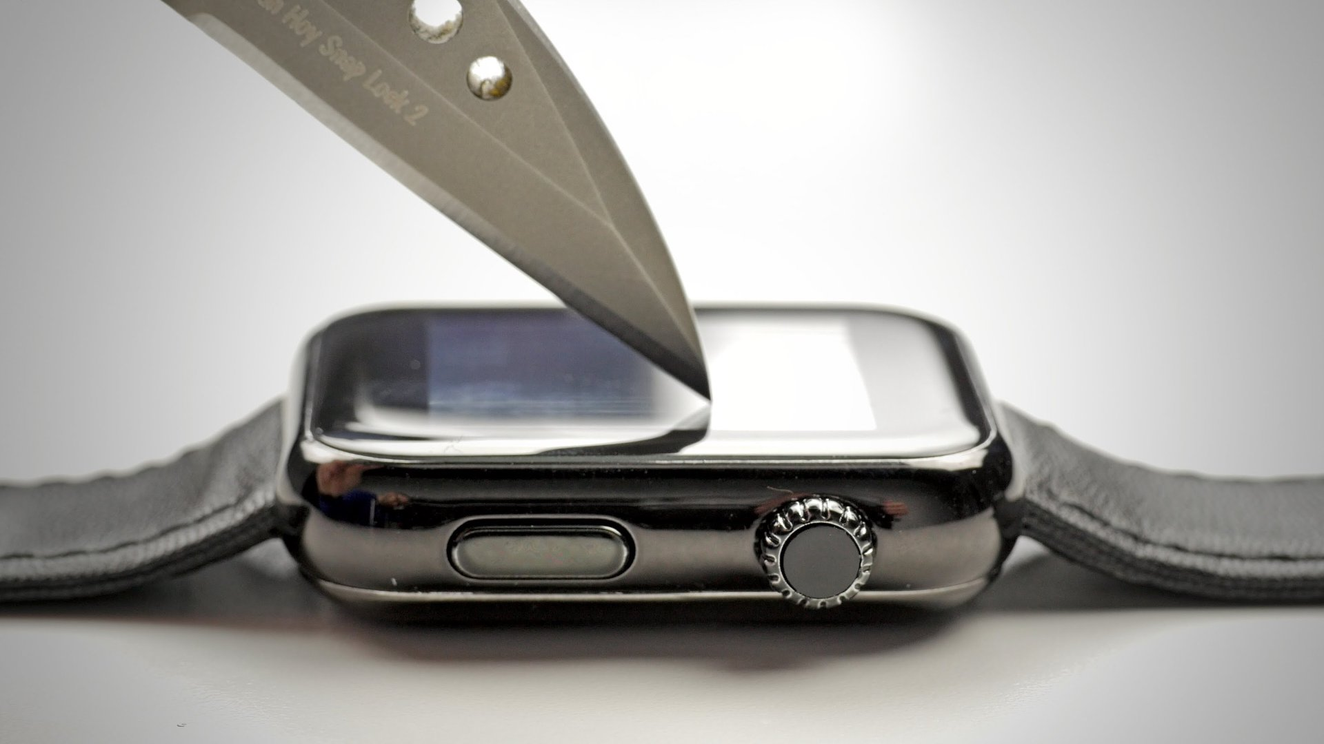 Apple Watch Scratch Resistance Test