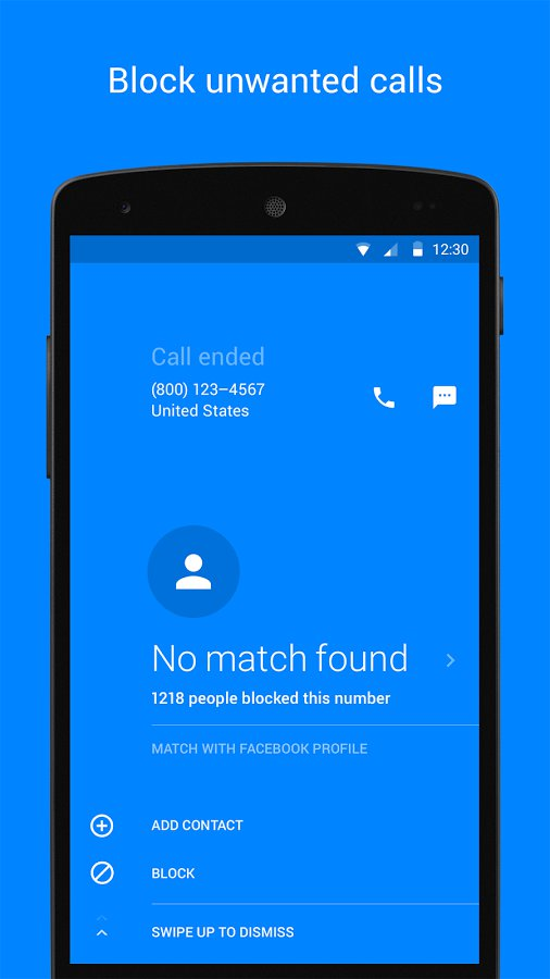 Facebook Hello - Block Unwanted Calls
