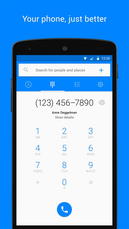 Facebook Hello - Improved Dialer