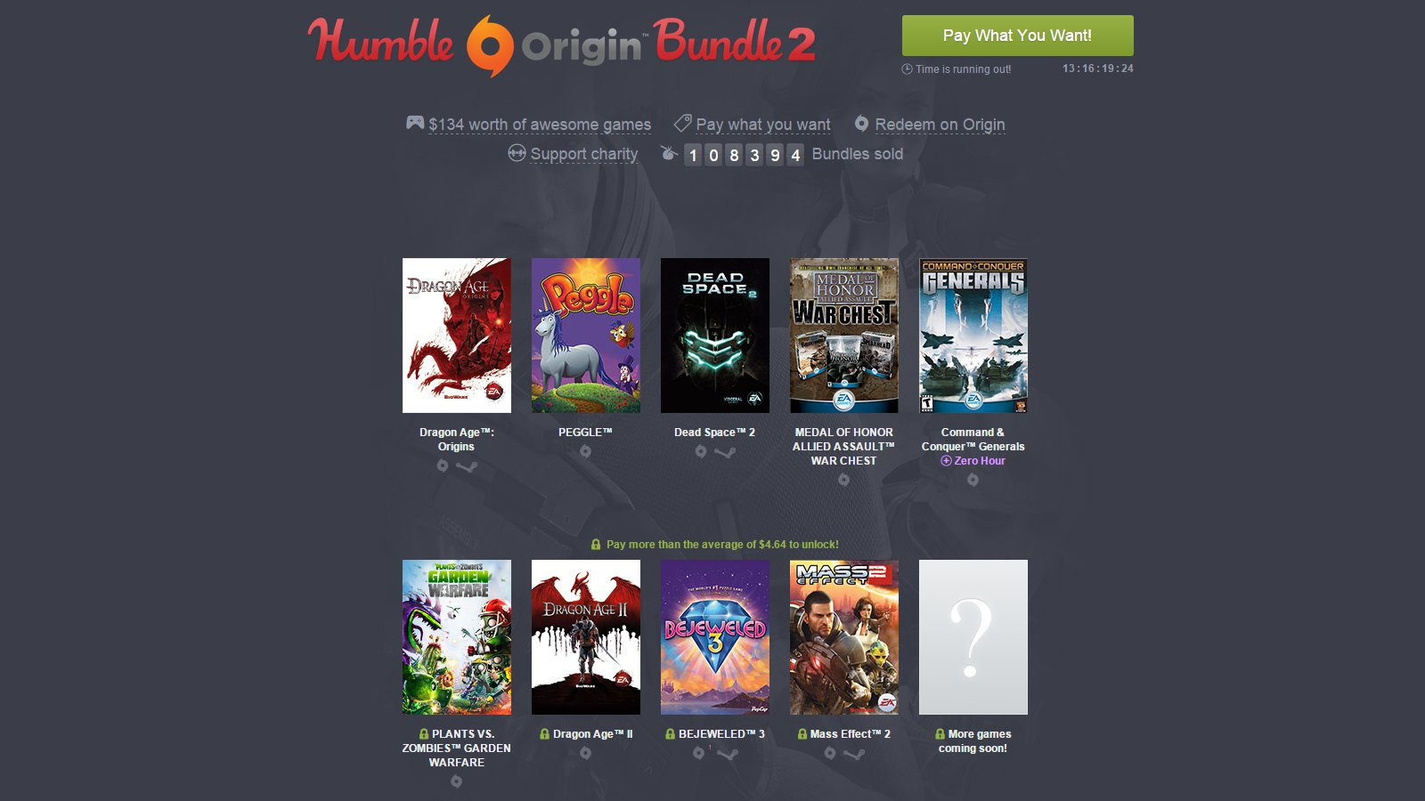 Humble Origin Bundle 2