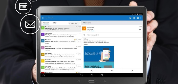 Microsoft Outlook For Android And iOS Gets New Address Book And Calendar Features