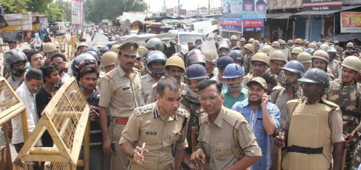 Riot In Lucknow City