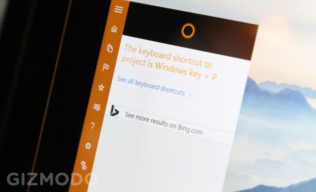 Cortana - Keyboard Shortcuts