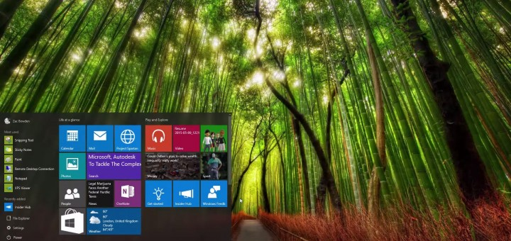Windows 10 - Build 10114
