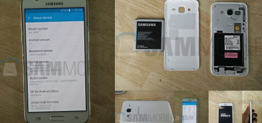 Samsung Galaxy J5 - Leaked Images