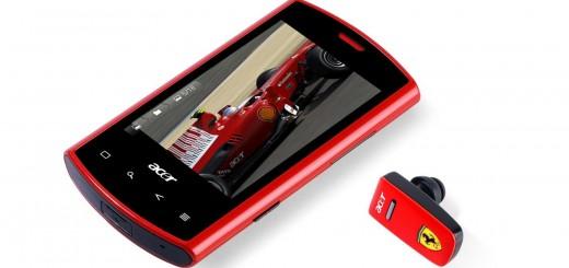 Acer liquid E - Ferrari Special Edition