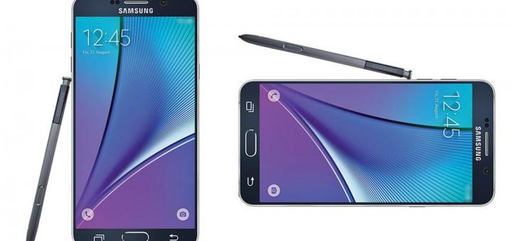 Samsung Galaxy Note 5 - Press Render