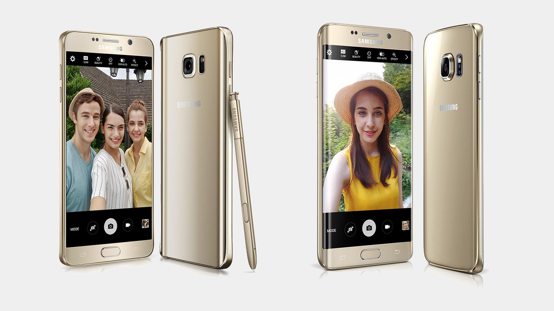 Samsung Galaxy Note 5 & Galaxy S6 Edge+