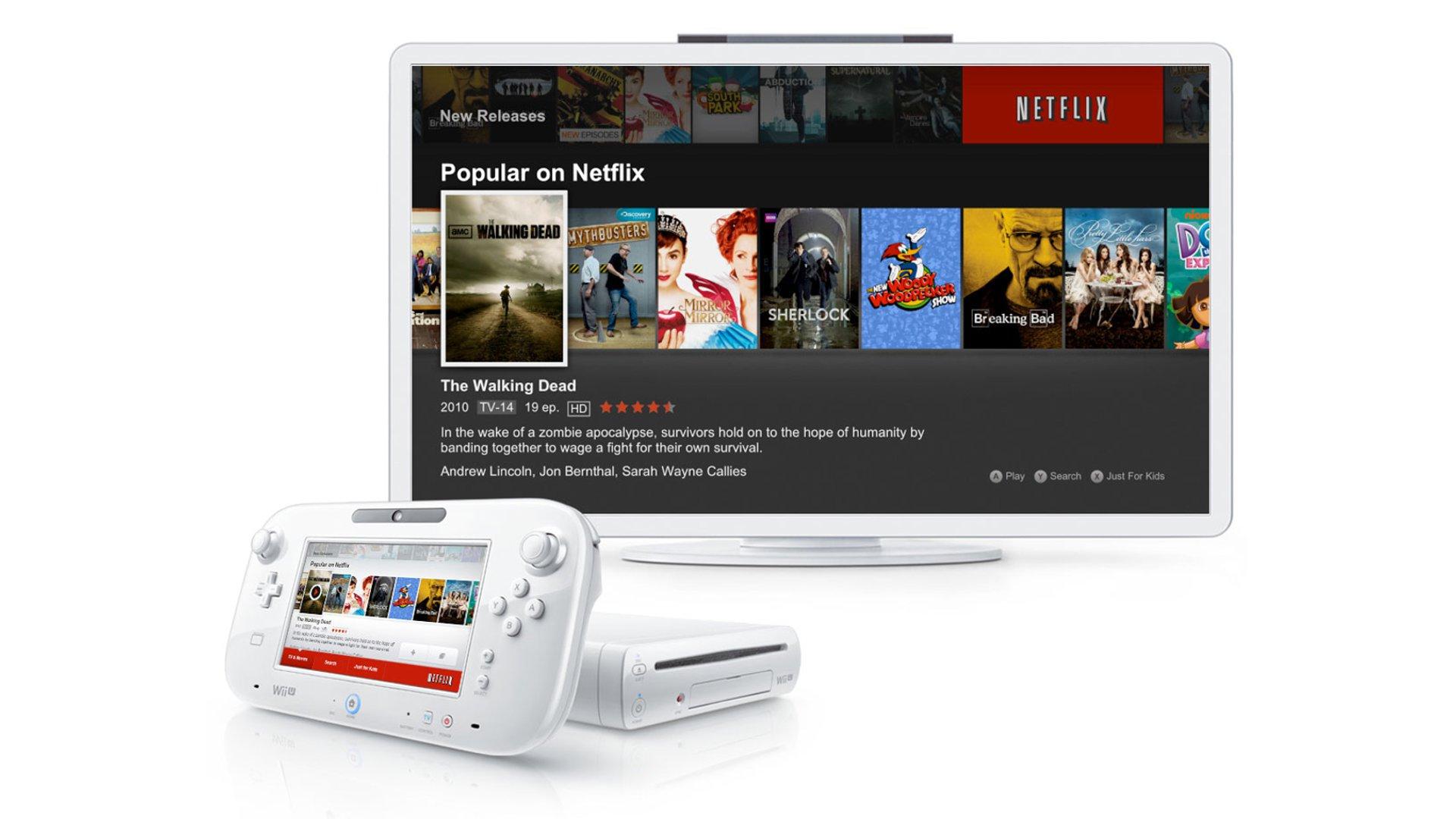 Netflix For Wii U