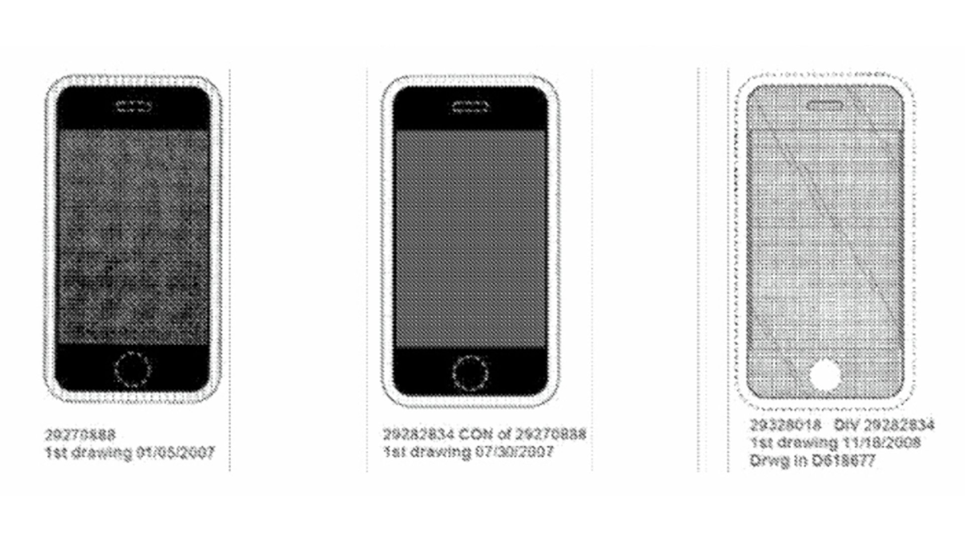Apple iPhone Design Patent