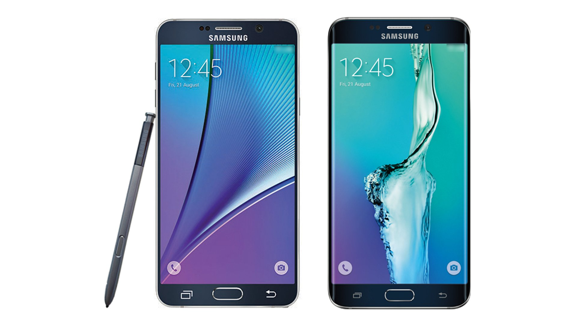 Press Render Of Samsung Galaxy Note 5 And Galaxy S6 Edge+