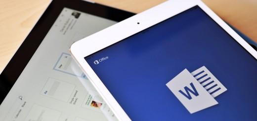 Apple iPad Running Microsoft Office