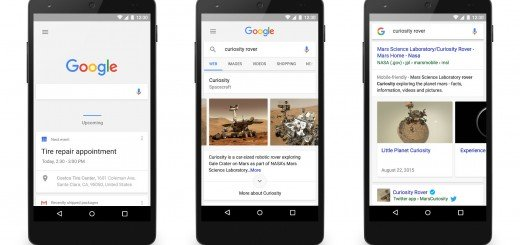 Google Search & Google Now Updated