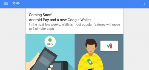 Android Pay Banner Inside Google Wallet