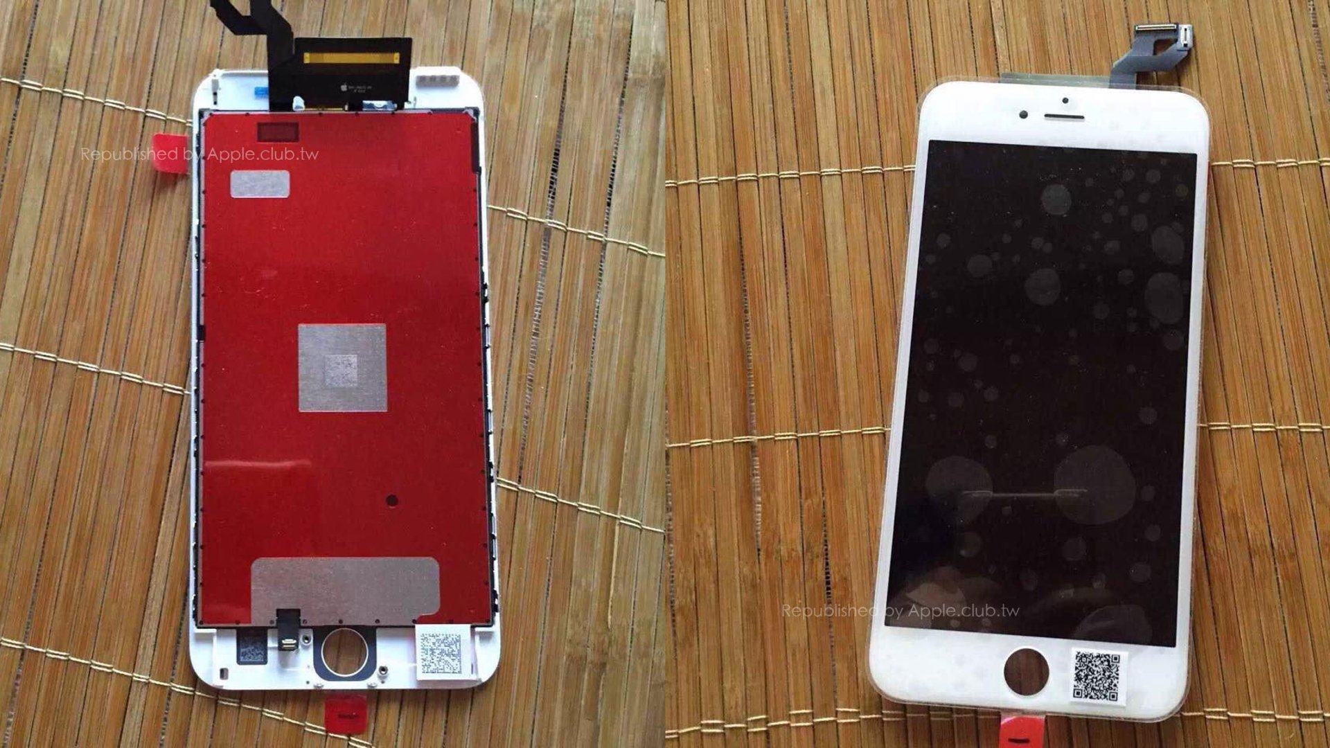 iPhone 6S Plus - Leaked Images Showing Force Touch Hardware