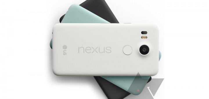 Google LG Nexus 5X - Press Render