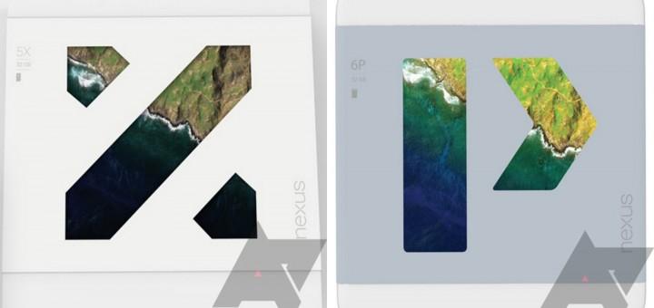 Google LG Nexus 5X & Huawei Nexus 6P- Retail Boxes