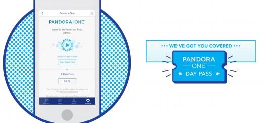 Pandora - Day Pass For $0.99