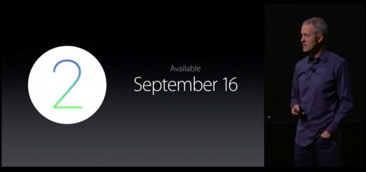 watchOS 2 - Release Date