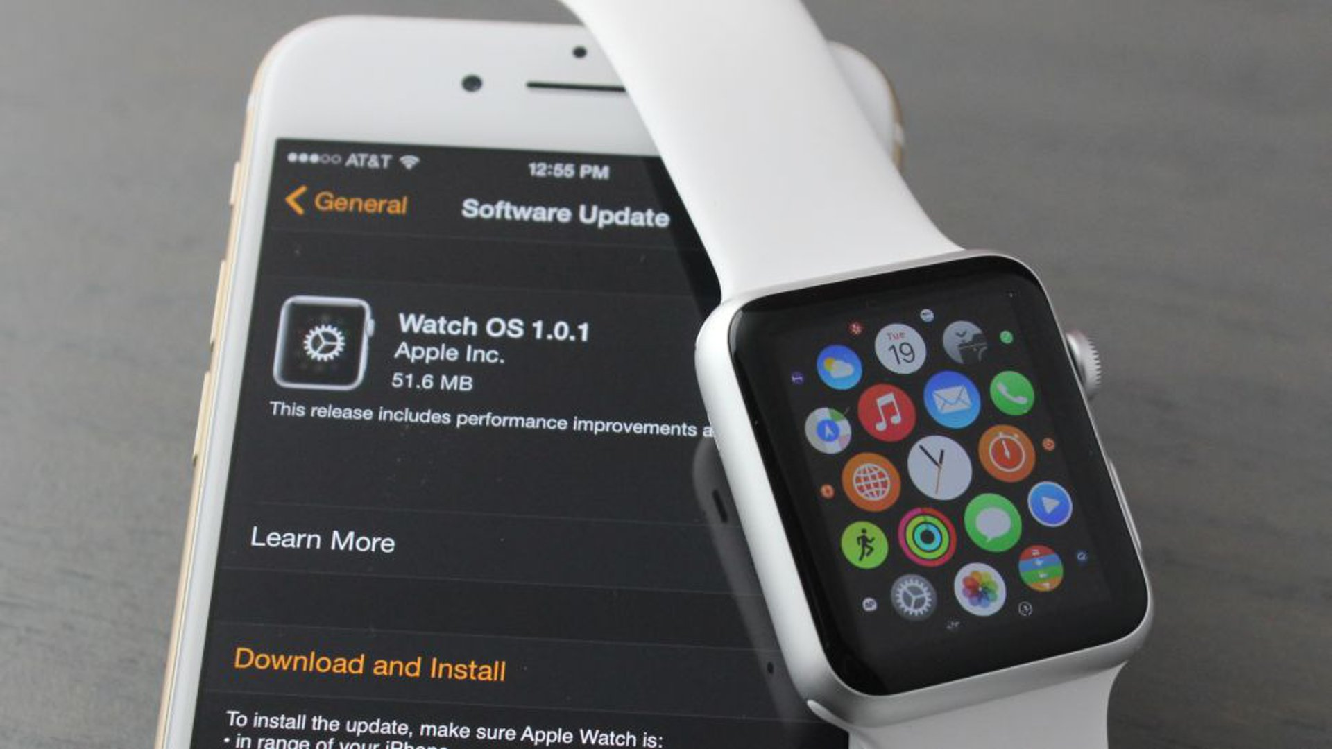 Watch OS Update For Apple Watch