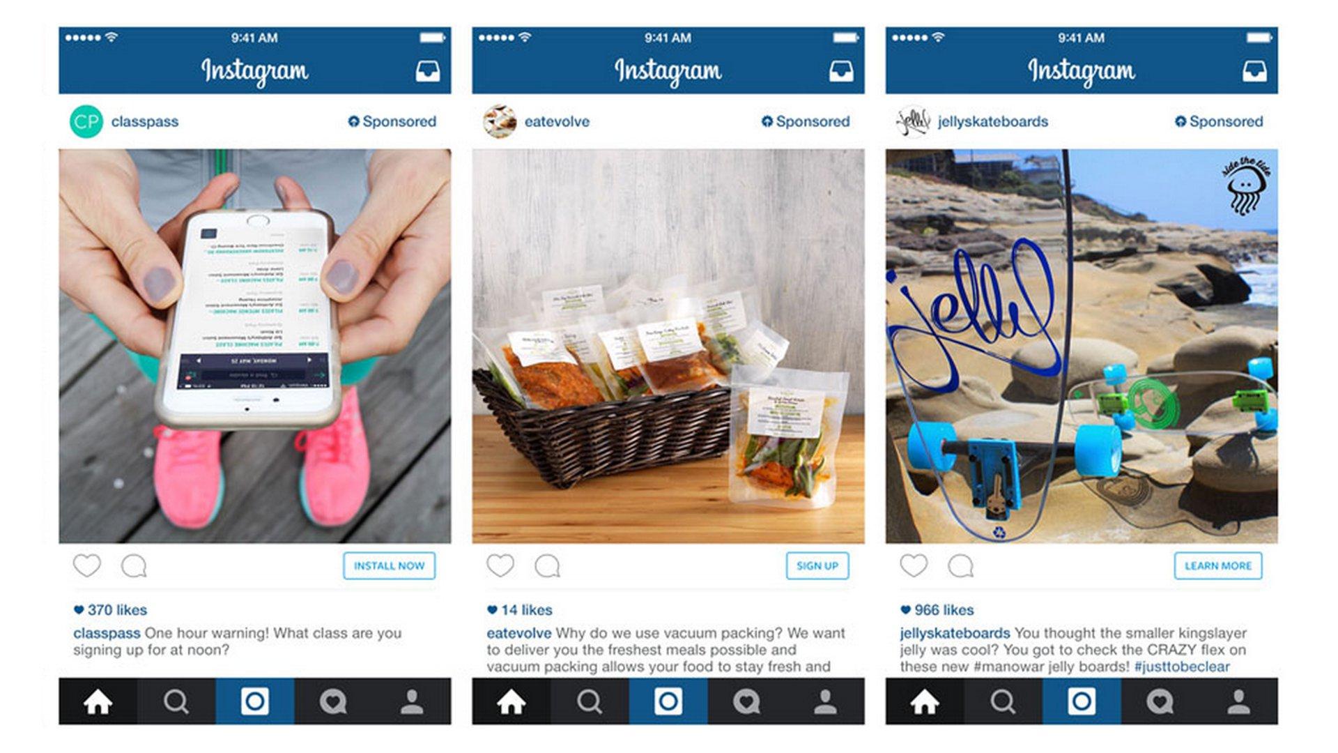 Instagram - Sponsored Ads