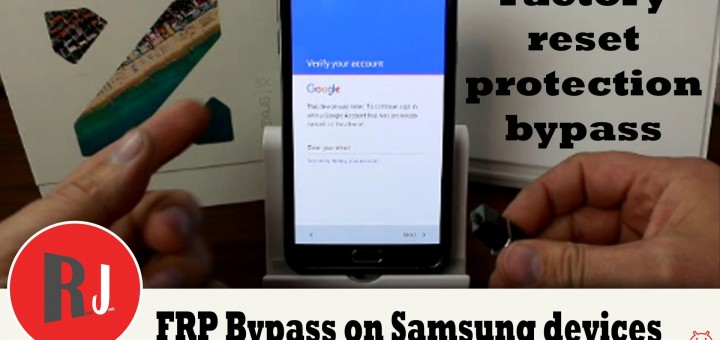 FRP Bypass On Samsung Devices