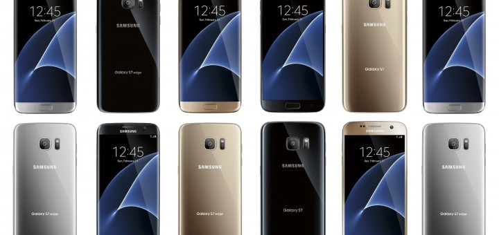 Samsung Galaxy S7 And Galaxy S7 Edge Leaked Renders Reveal Color Options